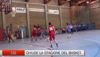 Csi - Chiude la stagione del basket