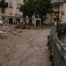 Esonda un torrente ad Algua  Bloccata la strada provinciale