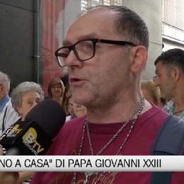 Il ritorno a casa di Papa Giovanni XXIII - L'emozione delle persone in ospedale