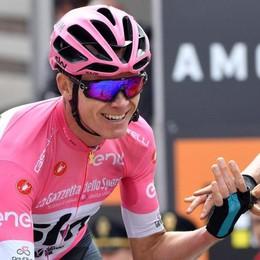 Le buche di Roma fermano il Giro A Chris Froome la vittoria finale