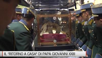 Peregrinatio - Cronaca di una giornata con Papa Giovanni