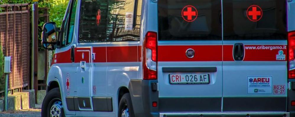 Grave incidente a Credaro Ragazza 17enne investita da una moto
