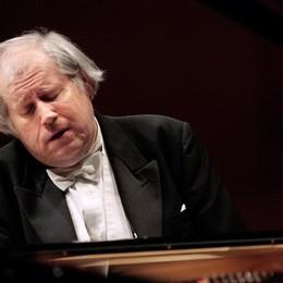 Il pianista Sokolov al Teatro Sociale