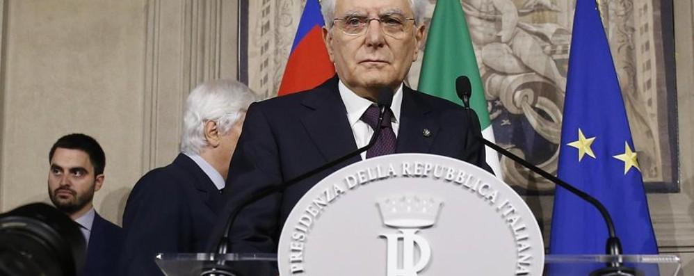 Il Quirinale si oppone alla deriva anti euro