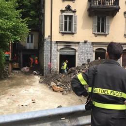 Ondata di maltempo, disastri in Valserina Vigili del fuoco in azione - Foto e video