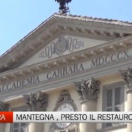 Arte - Il Mantegna scoperto alla Carrara: presto il restauro