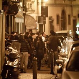 Bergamo e «movida» notturna Chiusura anticipata per  5 locali