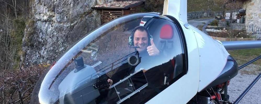 Guido Fly inizia il volo più importante «Tornerò sull'Alben, con le mie gambe»