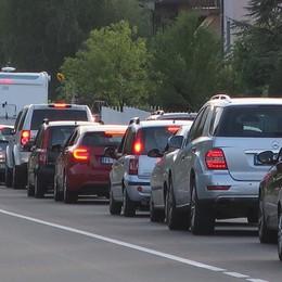 Incidente a Cavernago, traffico in tilt Coinvolto un mezzo pesante