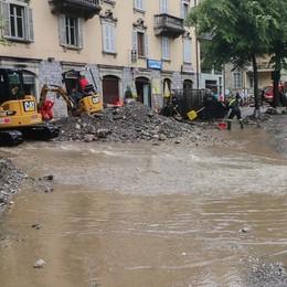 Val Serina, sos dopo gli allagamenti «Servono fondi per prevenire disastri»