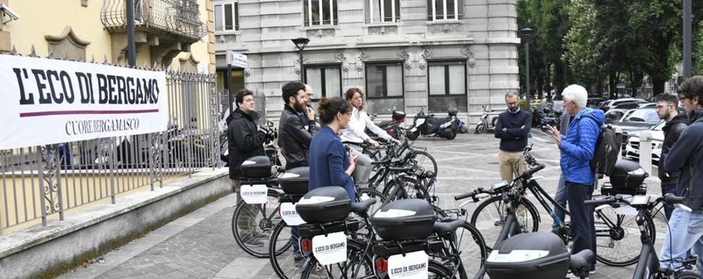 Azienda sempre più attenta all'ambiente Bici elettriche per i dipendenti Sesaab