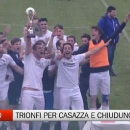 Calcio dilettanti, Casazza e Chiuduno trionfo in Coppa