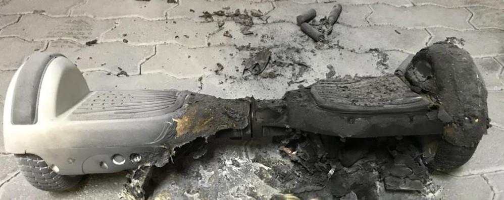 Esplode l'hoverboard in garage Paura per una famiglia di Cividino