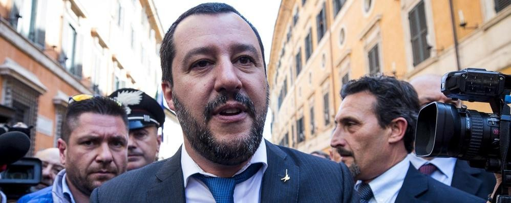 Annullato il comizio a Calolziocorte Matteo Salvini non ci sarà