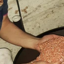 Fortino di metalli preziosi in una fattoria 70 quintali di rame al posto dei cereali