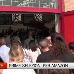 Primi colloqui per lavorare da Amazon A Casirate già 300 candidati - Video