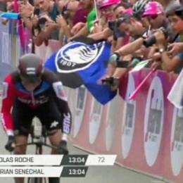 Il Giro d'Italia arriva a Gerusalemme Al traguardo c'è la bandiera dell'Atalanta