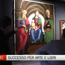 Bergamo - Grande successo per arte e libri