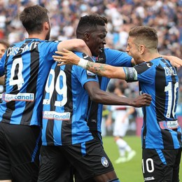 L'Atalanta punta su Barrow e Gomez Squadra in forma contro la Lazio