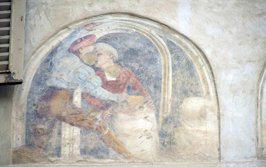 La Pittura Murale Questione Di Facciata Cronaca Bergamo