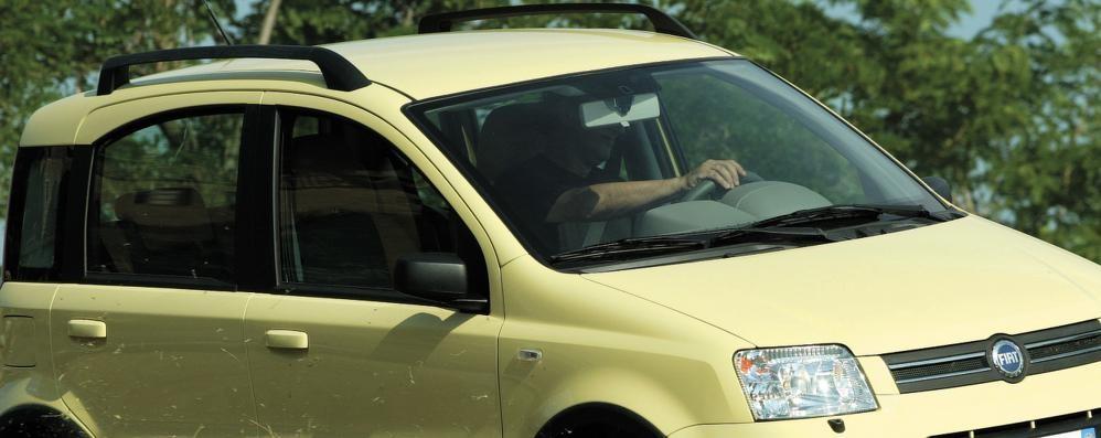 A Bergamo furti d'auto in calo del 21% La più bersagliata dai ladri è la Panda