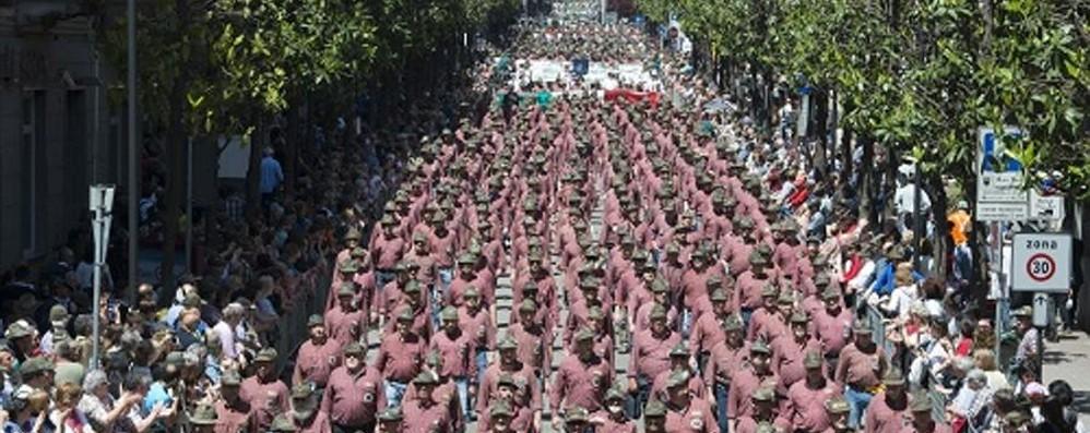 Adunata degli alpini a Trento, primi arrivi Attese 600.000 persone in quattro giorni
