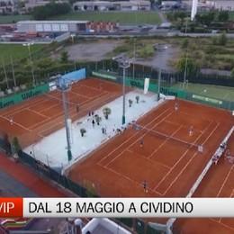 Cividino, dal 18 Maggio torna il Tennis Vip