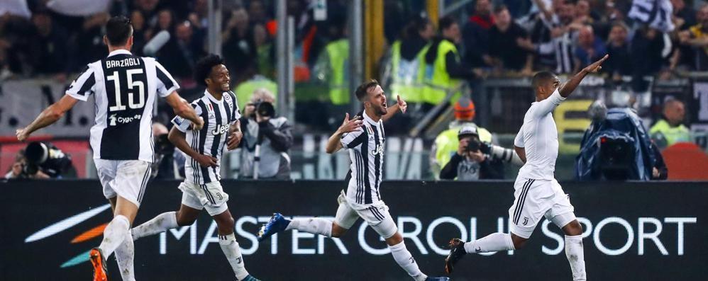 La Juventus strapazza il Milan per 4-0 Gioisce l'Atalanta: possibile Europa diretta