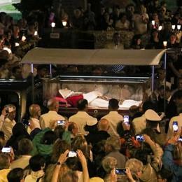 #GiovanniXXIII: il corpo del Santo  a Sotto il Monte per la venerazione