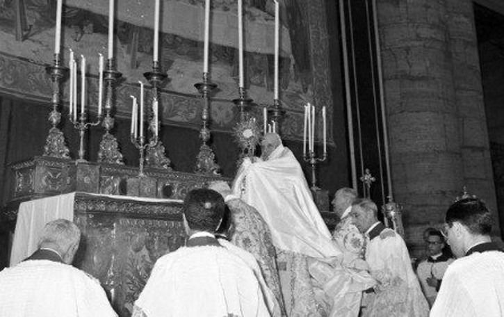 #GiovanniXXIII: la continuità  nel pontificato di Papa Francesco