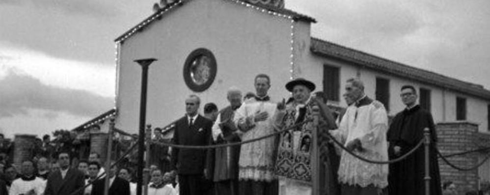 #GiovanniXXIII: la devozione mariana  e le visite estive nei santuari di zona