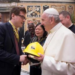 Non solo profitto I petrolieri dal Papa
