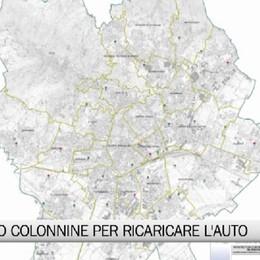 Bergamo - In arrivo colonnine per auto elettriche