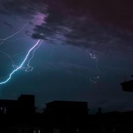 Allerta temporali sulla Bergamasca Previsto maltempo fino al week end