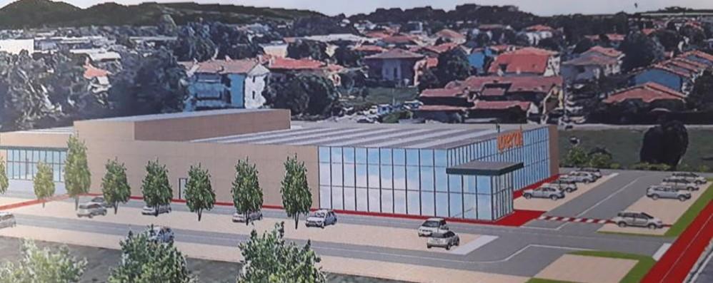 Nuovo supermercato a Scanzorosciate Già iniziati i primi colloqui di lavoro