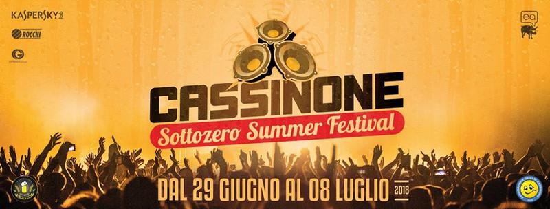 CASSINONE SOTTOZERO SUMMER FESTIVAL