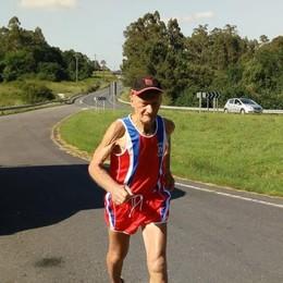 Continua l'avventura di Battista Marchesi È arrivato a Santiago: 70 km al giorno