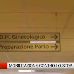 Sanità, Piario - In tanti per il no allo stop del punto nascite