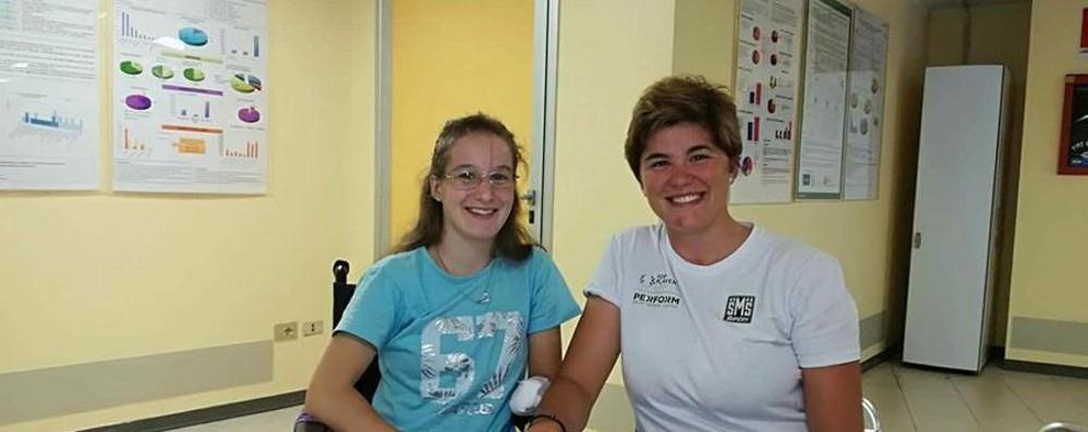 Due guerriere con il sorriso s'incontrano Agnese e Claudia, un esempio per tutti