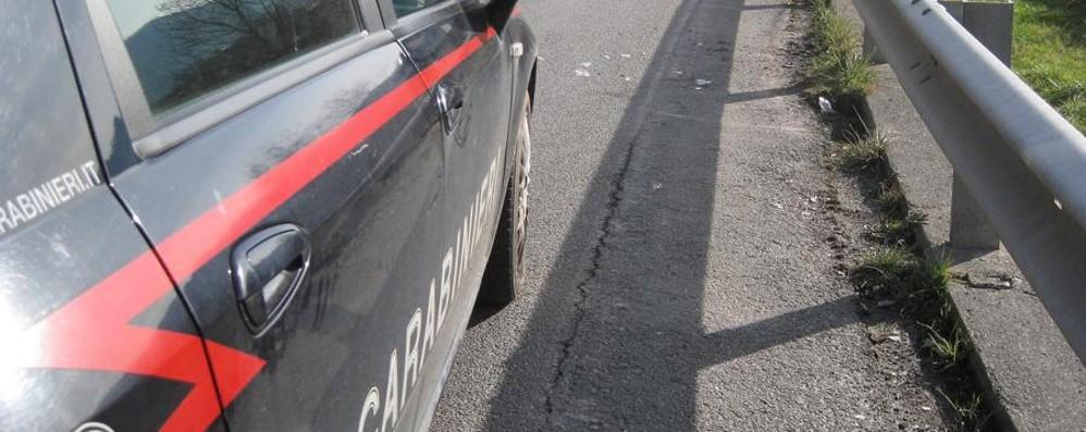 Lite tra rom, spunta un coltello Brembate, 30enne finisce in ospedale