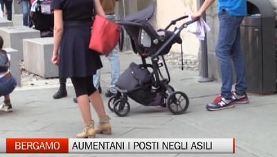 Nidi a Bergamo: aumentano i posti e le domande