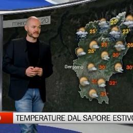 Meteo, temperature dal sapore estivo