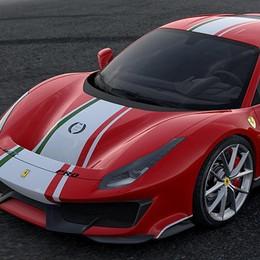 Nuova Ferrari 488 Pista in versione personalizzata