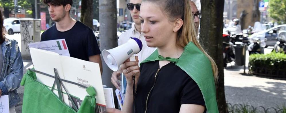 La Costituzione? A lezione dai nostri figli L'Istituto Belotti premiato a Montecitorio