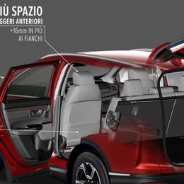 Più spazio e tecnologie sul nuovo Honda CR-V