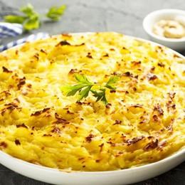 Torta di patate ripiene