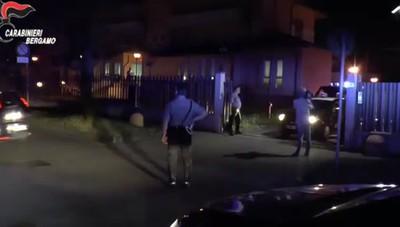 Il video del blitz a Zingonia