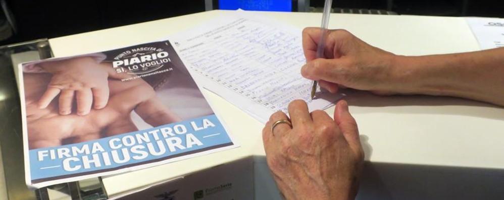 Piario, i sindaci contro la chiusura Raccolte 10.500 firme per il punto nascita