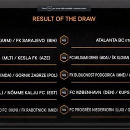 Atalanta, la sfida all'Europa League sarà contro il Banants o Sarajevo