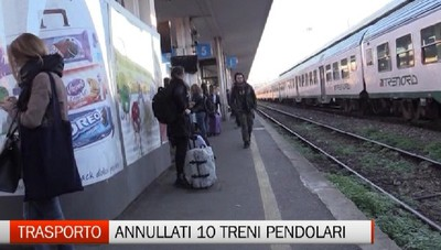 Treni - Giornata da incubo per i pendolari bergamaschi